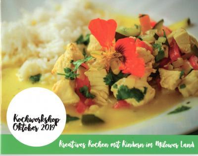 """Foto zur Meldung: Kochbuch """"Kreatives Kochen mit Kindern im Milower Land"""""""