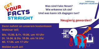 """""""Gemeinsam gegen Fake News!"""" – kostenlose Webinare im Juni"""