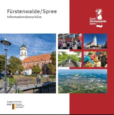 Vorschaubild zur Meldung: Die neue Infobroschüre über die Stadt Fürstenwalde jetzt erschienen