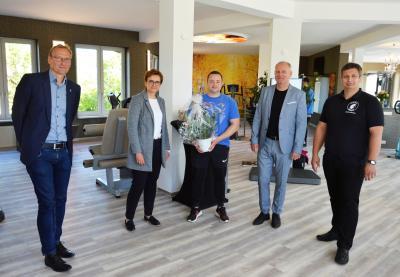 (v. l.) Uwe Neumann, Constanze Stehr, Björn Witte, Lutz Lange und Christian Maasch I Foto: Martin Ferch