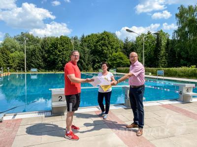 Foto zur Meldung: Hainholz-Schwimmbad öffnet am 30. Mai wieder