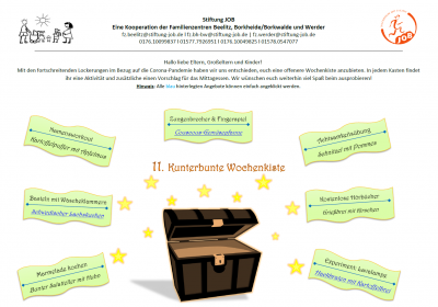 11. Kunterbunte Wochenkist - Deckblatt