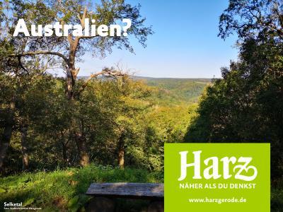 Vorschaubild zur Meldung: +++ Harzer Tourismusverband startet Werbekampagne FERNWEH HARZ +++