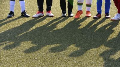 Bild Fussballbeine