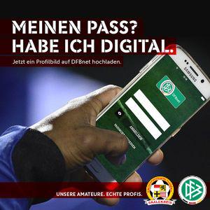 Foto zur Meldung: Erinnerung und Informationen zum digitaler Spielerpass