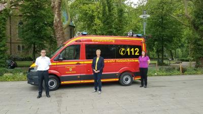 Foto zur Meldung: Einsatzleitwagen für die Feuerwehr