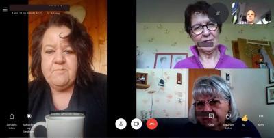 Foto zur Meldung: Smartphone Sprechstunde im Videochat im MGH Haunetal