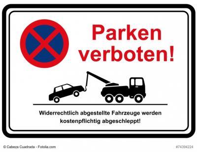 Vorschaubild zur Meldung: Parkverbote wegen Sonderreinigung