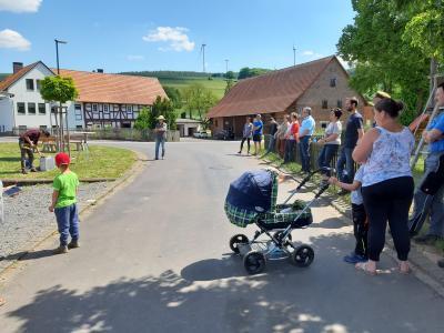 """Foto zur Meldung: """"Tag des Nachbarn""""  - der Bürgerbus unterwegs im Haunetal am 29.5.2020"""