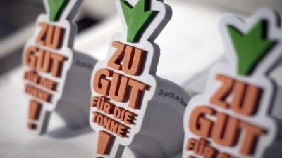 """Bundespreis """"Zu gut für die Tonne"""" Kreative Ideen gegen Lebensmittelverschwendung – Oberschule aus Rathenow (Brandenburg) einer der Preisträger"""