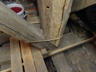 Zustand des Glockenstuhls
