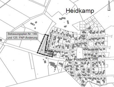 Geltungsbereich Heidkamp