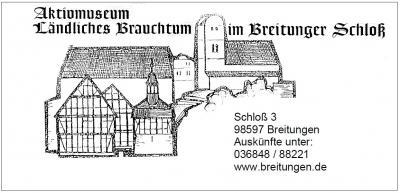 Vorschaubild zur Meldung: Wiedereröffnung Aktivmuseum Breitungen