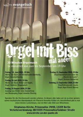 Orgel mit Biss - mal anders...