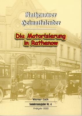 Foto zur Meldung: Neue Sonderausgabe des Rathenower Heimatkalenders