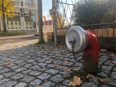 Foto zu Meldung: Kloster Lehniner Feuerwehr kann jetzt auch Landwirtschaftsbrunnen nutzen