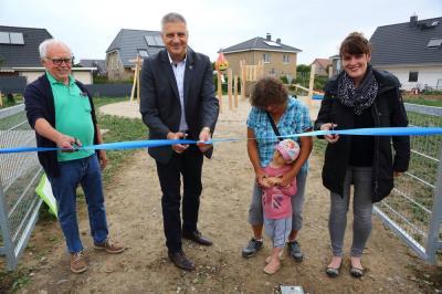 Bild der Meldung: Spielplatz in Birkenstein übergeben