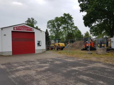 Foto zur Meldung: Kurzinformation-  zum Bau der Feuerwehr Zinndorf