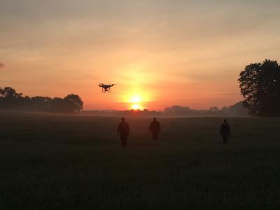 """Erfahrungsbericht """"Wildtierrettung per Drohne vor der Mahd"""" vom Hegering Versmold e.V."""