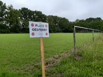 Foto zur Meldung: Projekt Drainage Rasenplatz auf der Zielgeraden