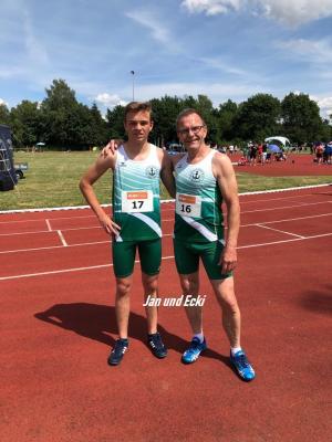 Unser Trainerteam Jan (links) und Ecki (rechts) suchen Unterstützung!