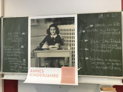 Foto zur Meldung: Anne-Frank-Tag 2020