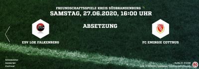 Foto zur Meldung: +++Spiel gegen den FC Energie Cottbus wird verlegt+++