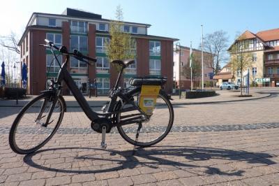 Vorschaubild zur Meldung: E-Bike-Verleih weiterhin möglich
