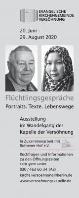 Vorschaubild zur Meldung: Ausstellungseröffnung und Gottesdienst am World Refugee Day