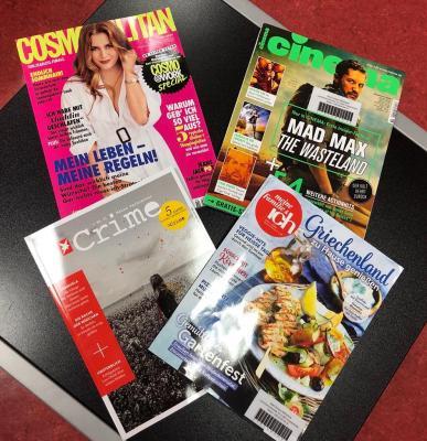 Unsere neuen Zeitschriften