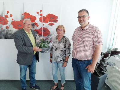 v.l.Herr Udo Staeck, Frau Manuela Wildner, Herr Sven Steinbeck