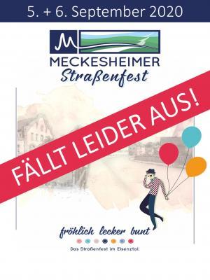 Absage Meckesheimer Straßenfest
