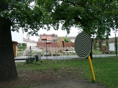 Der Spielplatz Goetheplatz - Eine