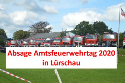 Foto zur Meldung: Amtsfeuerwehrtag 2020 in Lürschau abgesagt