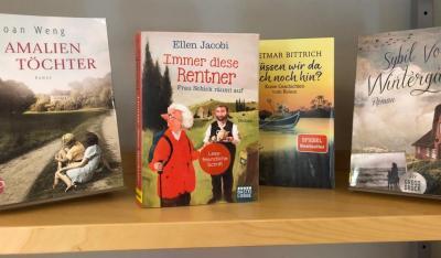 Kleine Auswahl unserer Bücher im Großdruck-Format