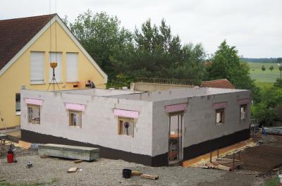 Anbau der Kindertagesstätte (Bild: G. Rott)