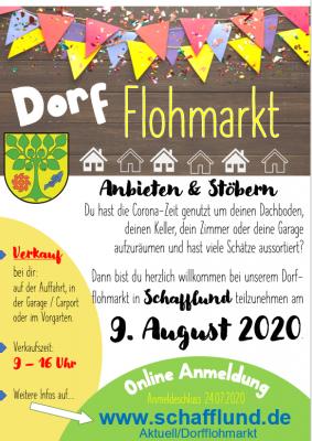Foto zur Meldung: Dorfflohmarkt