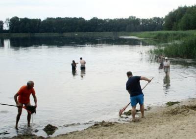 Foto zu Meldung: Badestelle Grebs wieder sauber