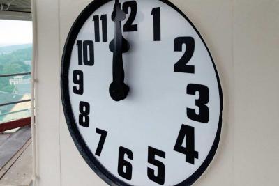 Bild der Meldung: Die Rathausuhr wird wieder in Gang gesetzt