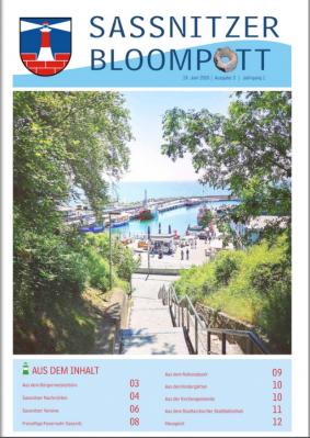 Vorschaubild zur Meldung: Sassnitzer Bloompott - Ausgabe 3 ist da...