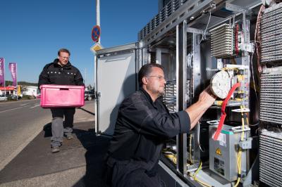 Foto zur Meldung: Telekom startet 5G-Initiative: Landkreis Oberspreewald-Lausitz ist mit dabei