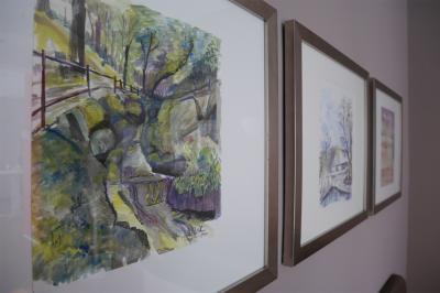 Foto zur Meldung: Neue Ausstellung im Calauer Info-Punkt eröffnet