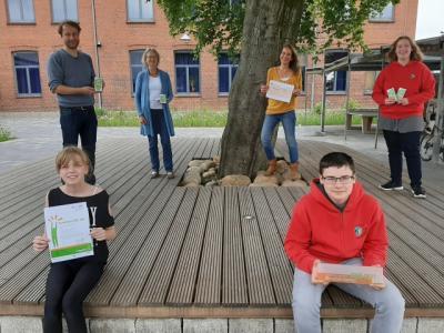 Foto zur Meldung: ZukunftsschuleSH: Hohe Auszeichnung für die Anne-Frank-Gemeinschaftsschule