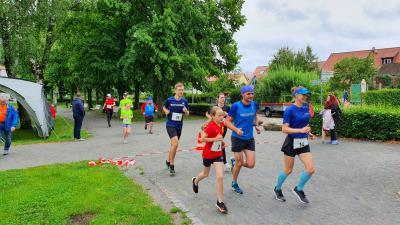 Foto zur Meldung: Trainingslauf in Krakow am See
