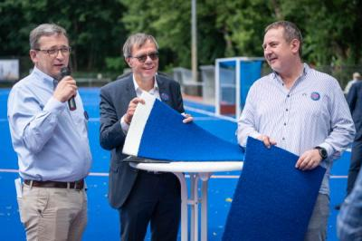 Bild der Meldung: PSU macht BLAU: Eröffnung neue Hockeyplätze