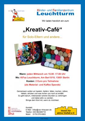 Vorschaubild zur Meldung: Gemeinsam kreativ im Kreativ-Café