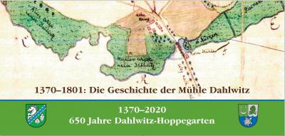 Bild der Meldung: Dahlwitzer Jubiläum – Flyer ist erschienen