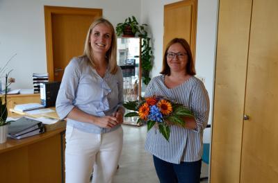 Ein Dankeschön an Anja Lohn
