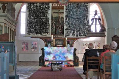 Foto zur Meldung: Kunst in der Kirche St. Magnus