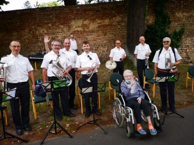 Foto zu Meldung: Präventionskonzert des Landespolizeiorchesters